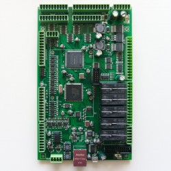 myCNC-ET7 control board top view
