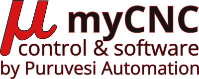 myCNC controls & software